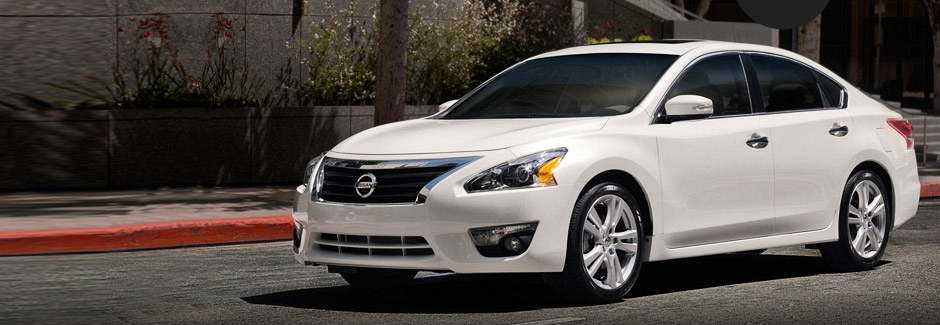 The all-new <span>Nissan Altima</span>